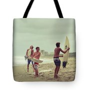Boys Of Summer Tote Bag by Laura Fasulo