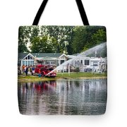 Boys With Toys Tote Bag