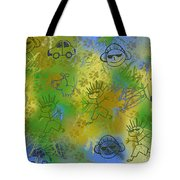 Boyz Only Abstract Tote Bag