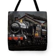 Br Steam Train And Gwr Pannier Tank Tote Bag