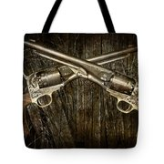 Brace Of Colt Navy Revolvers Tote Bag