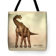 Brachiosaurus Dinosaur Tote Bag