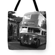 Bradford Bus In Mono  Tote Bag