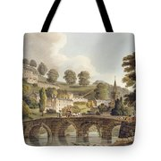 Bradford, From Bath Illustrated Tote Bag
