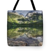 Bradley Lake Reflection - Grand Teton National Park Tote Bag