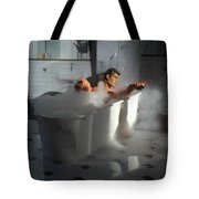 Brads Bath 1 Tote Bag