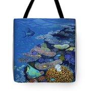 Brain Coral Tote Bag