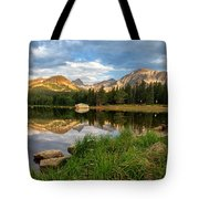 Brainard Lake Reflections Tote Bag