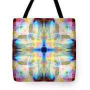 Brainbow Mandala Tote Bag