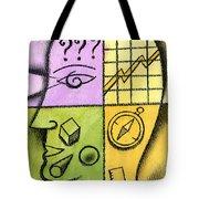 Brainstorming Tote Bag by Leon Zernitsky