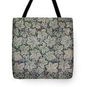 Bramble Wallpaper Design Tote Bag by Kate Faulkner
