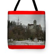 Bran Castle In December Tote Bag