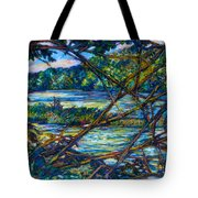 Brances Over The New River Tote Bag