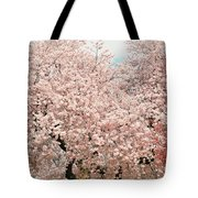 Branch Brook Cherry Blossoms Iv Tote Bag