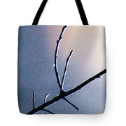 Branch  Web And Dew Tote Bag