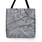 Branched Snow Tote Bag