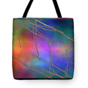 Branches In The Mist 15 Tote Bag