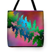Branches In The Mist 18 Tote Bag