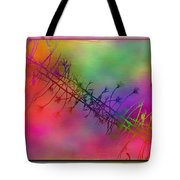 Branches In The Mist 24 Tote Bag by Tim Allen