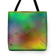 Branches In The Mist 27 Tote Bag