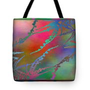 Branches In The Mist 28 Tote Bag