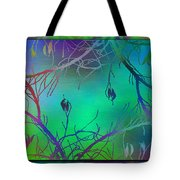Branches In The Mist 35 Tote Bag