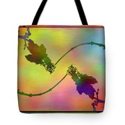 Branches In The Mist 44 Tote Bag