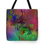 Branches In The Mist 47 Tote Bag
