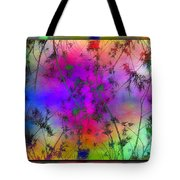 Branches In The Mist 5 Tote Bag