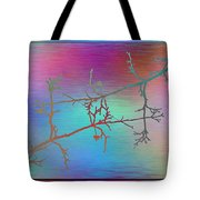 Branches In The Mist 60 Tote Bag