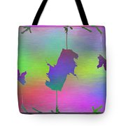 Branches In The Mist 61 Tote Bag