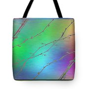 Branches In The Mist 62 Tote Bag