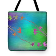 Branches In The Mist 64 Tote Bag