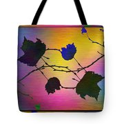 Branches In The Mist 71 Tote Bag