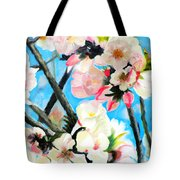 Branches Of Almond Tree Tote Bag