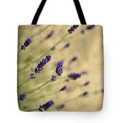Branches Of Flowering Lavender Tote Bag