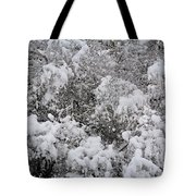 Branches Of Snow Tote Bag
