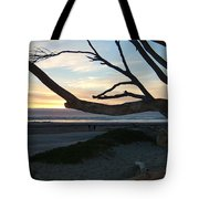 Branches Over The Beach Tote Bag