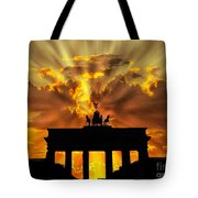 Brandenburg Gate Brandenburger Tor Berlin Germany Tote Bag