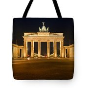 Brandenburg Gate Panoramic Tote Bag by Melanie Viola