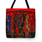 Bras On Display In Pigalle Tote Bag