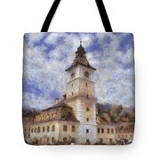 Brasov City Hall Tote Bag