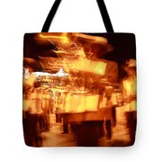 Brass Band At Night Tote Bag
