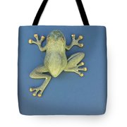 Brass Frog Tote Bag