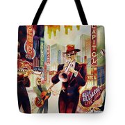 Brass On Broadway Tote Bag