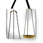 Brass Scale  Tote Bag