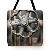 Brass Valve Tote Bag