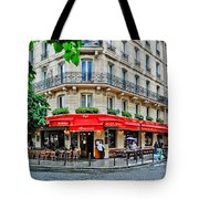 Brasserie De L'isle St. Louis Paris Tote Bag