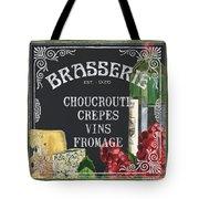 Brasserie Paris Tote Bag by Debbie DeWitt