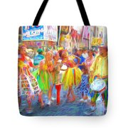 Brazil Day Colors Tote Bag